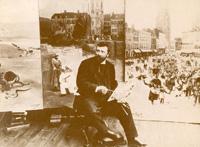 il devint peintre officiel de la marine partir de 1891 chevalier de la l gion d 39 honneur en 1896. Black Bedroom Furniture Sets. Home Design Ideas